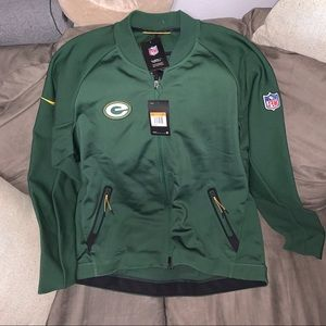 Nike Green Bay packers jacket